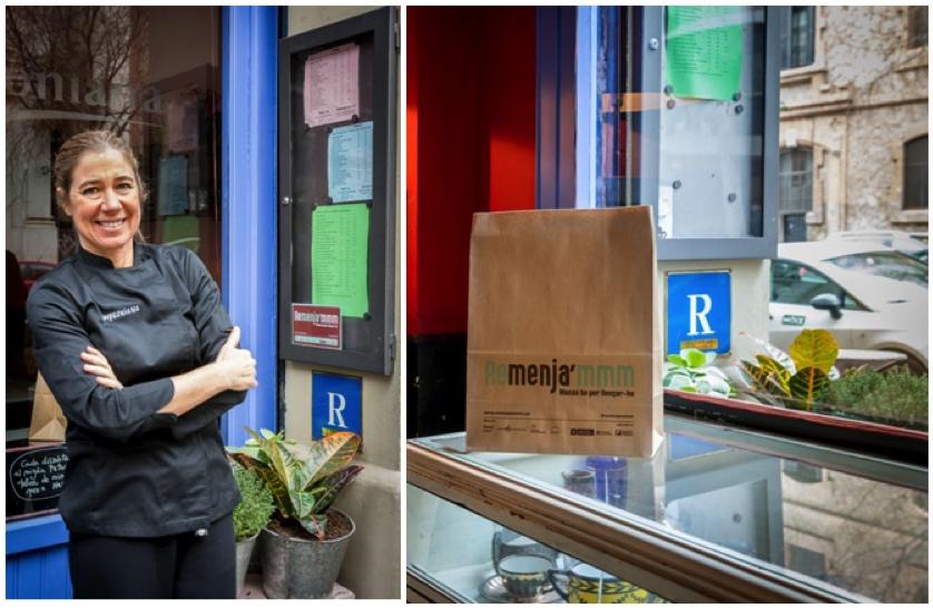 """""""Remenja'mm"""", el compromiso de los restaurandores contra el despedicio alimentario"""