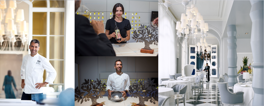 Paco Roncero enseña su mundo a través de los espacios del Casino de Madrid