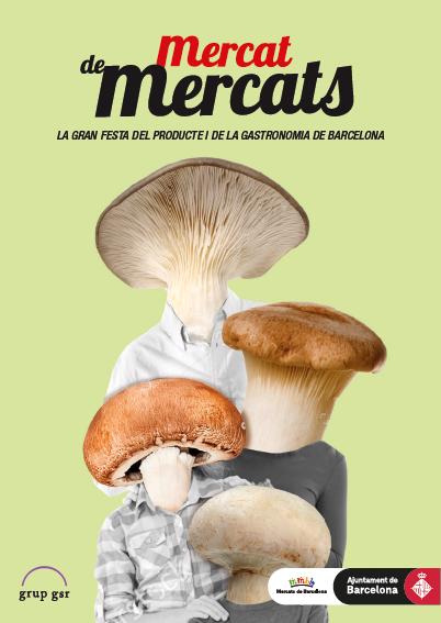 La 8ª edición de  Mercat de Mercats llena de producto fresco y  gastronomía la Avenida de la Catedral