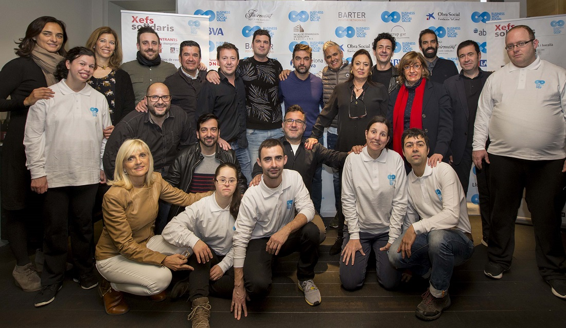 La culinaria barcelonesa vuelve a demostrar ética participando en el VI Business With Social Value