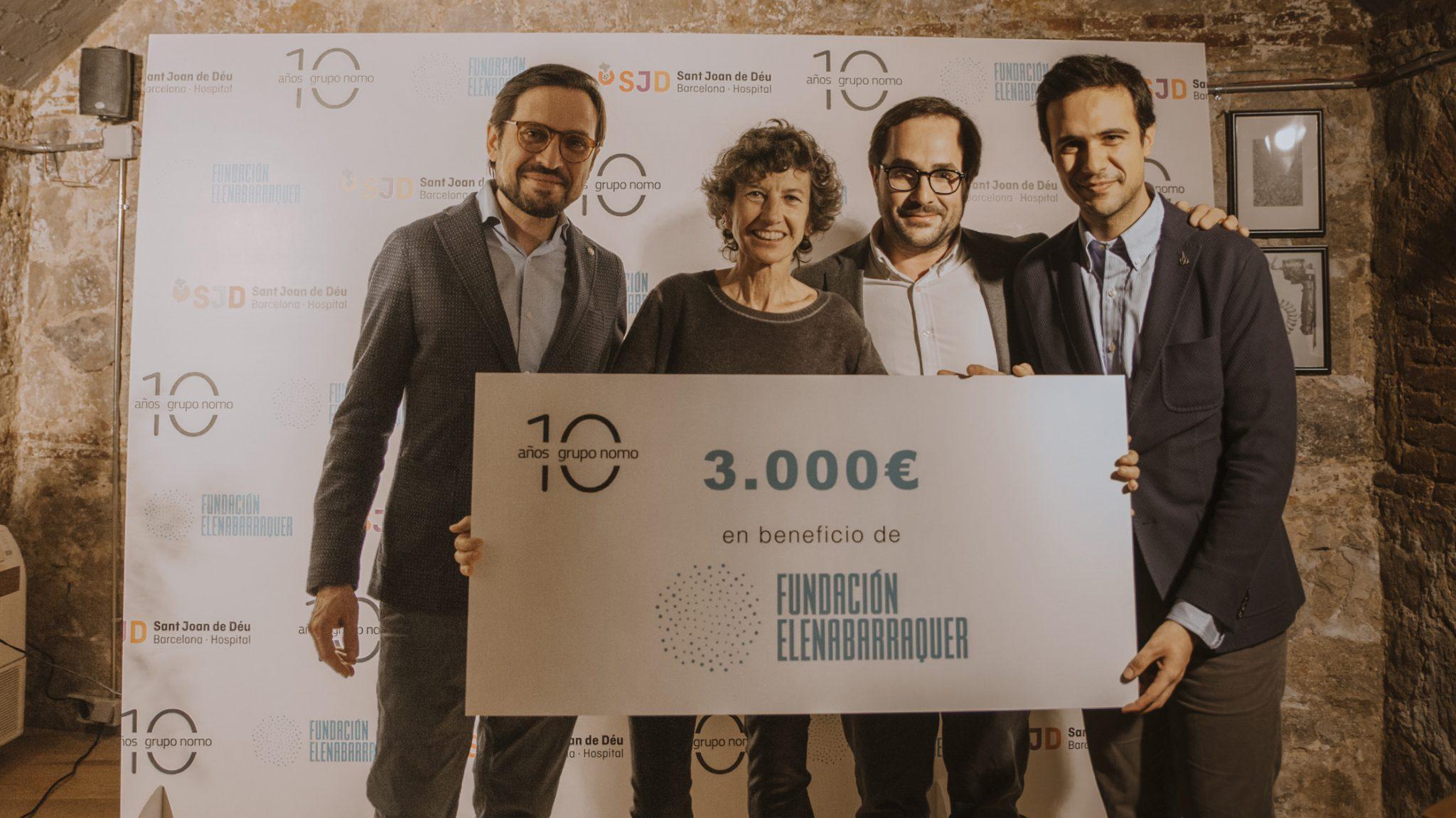 Grupo Nomo dona 7.500€ a causas benéficas