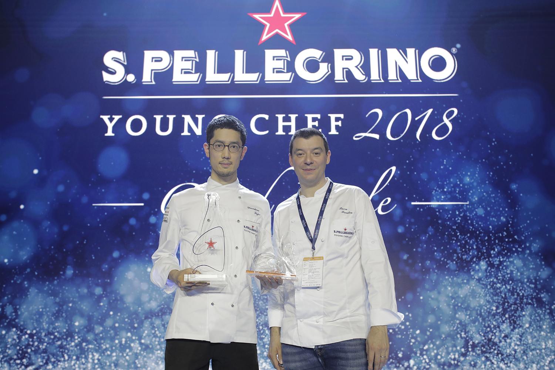 El japonés Yasuhiro Fujio se corona como S.Pellegrino Young Chef 2018