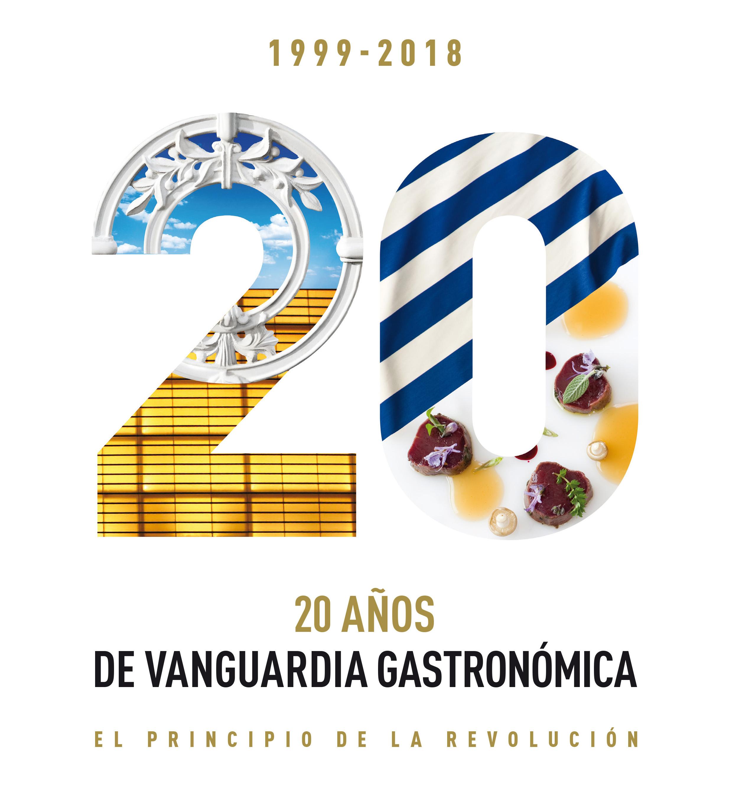 20 años de vanguardia gastronómica. El principio de la revolución.