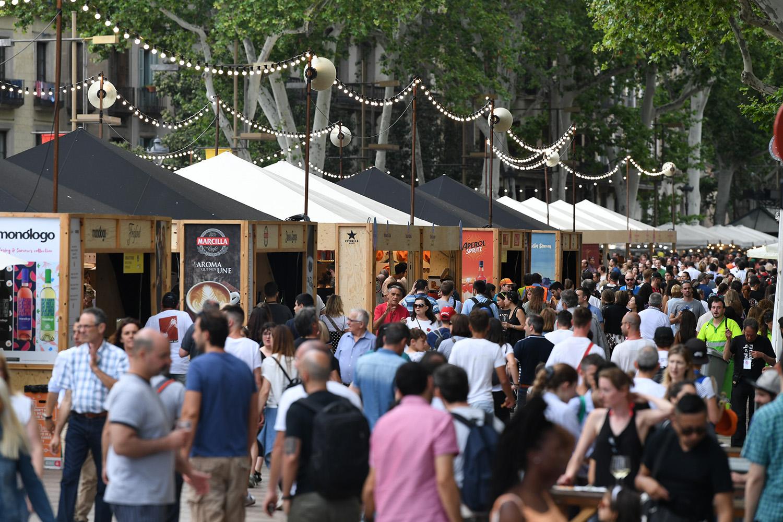 Tast a La Rambla supera el éxito de público en su quinta edición con 630.000 visitas