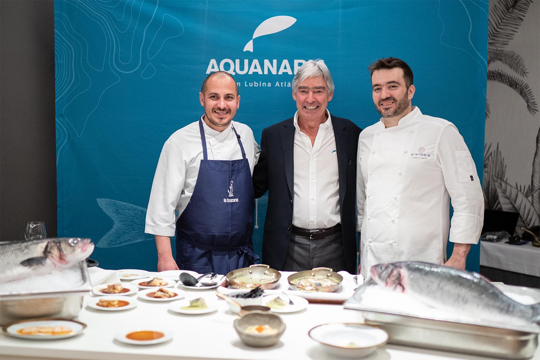 Castanyé y Tomás muestran en Barcelona las posibilidades de la gran lubina canaria