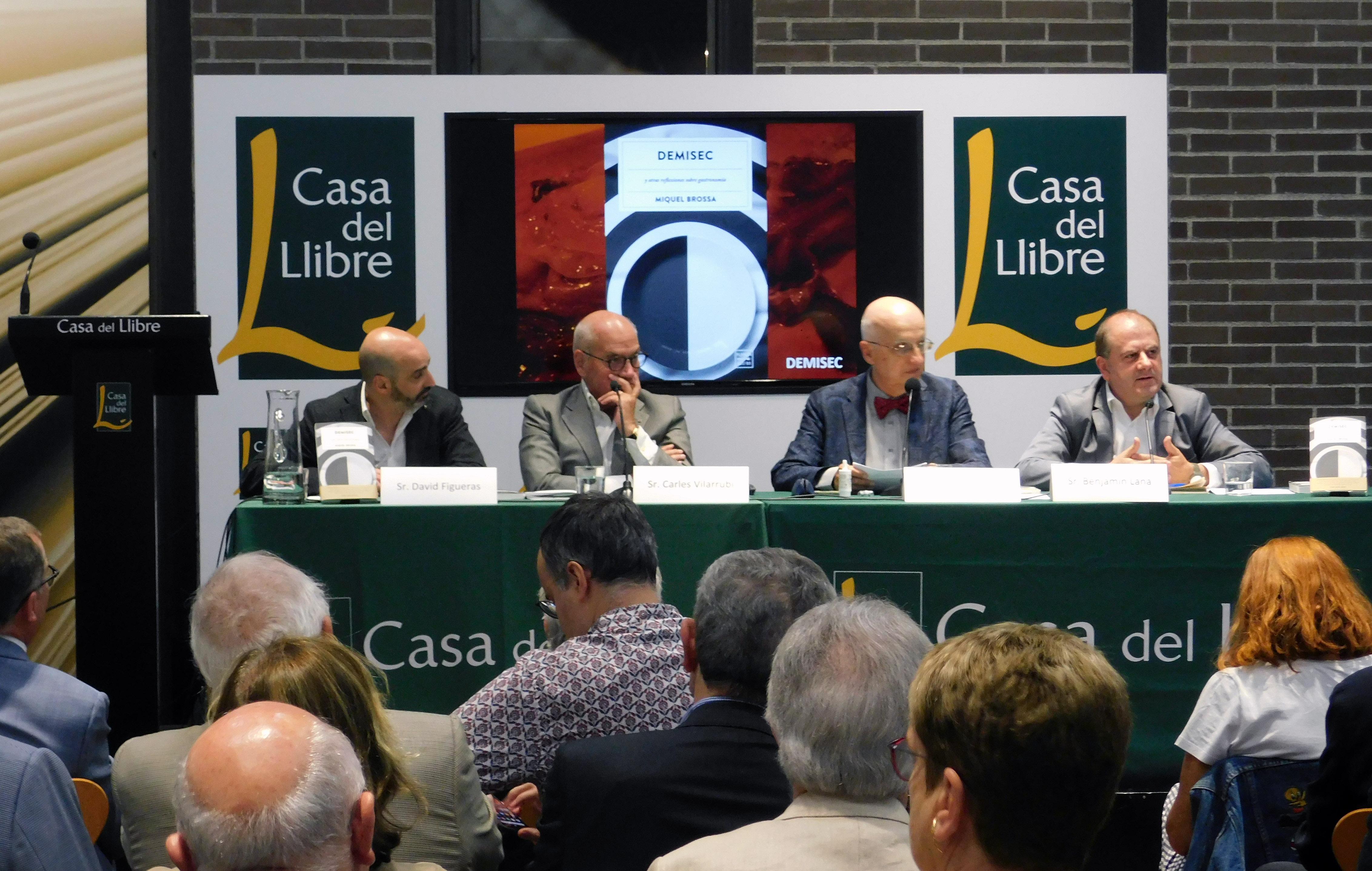 Miquel Brossa reflexiona sobre gastronomía en DEMISEC