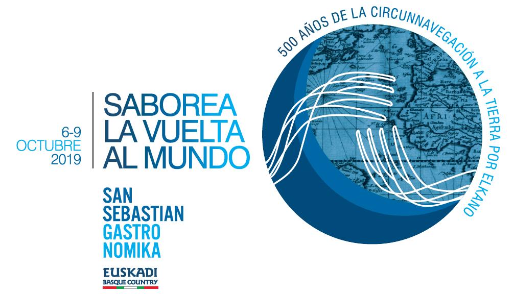 San Sebastian Gastronomika 2019 viaja con Elkano  en el 500 aniversario de su vuelta al mundo
