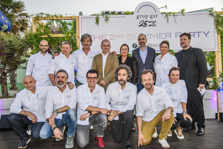 grup gsr celebra 25 años de  compromiso con la gastronomía