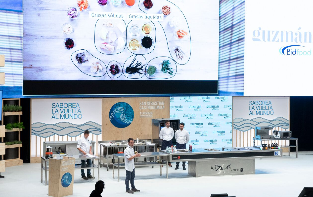Guzmán Gastronomía pone la sal en  San Sebastian Gastronomika 2019
